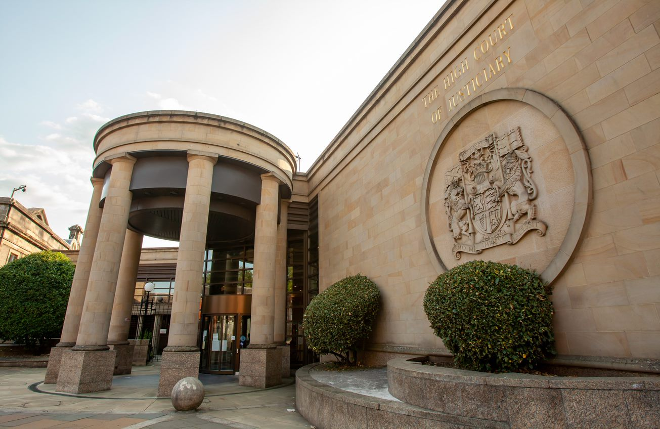 Former aspiring football coach behind bars after £25k bank robbery in Glasgow