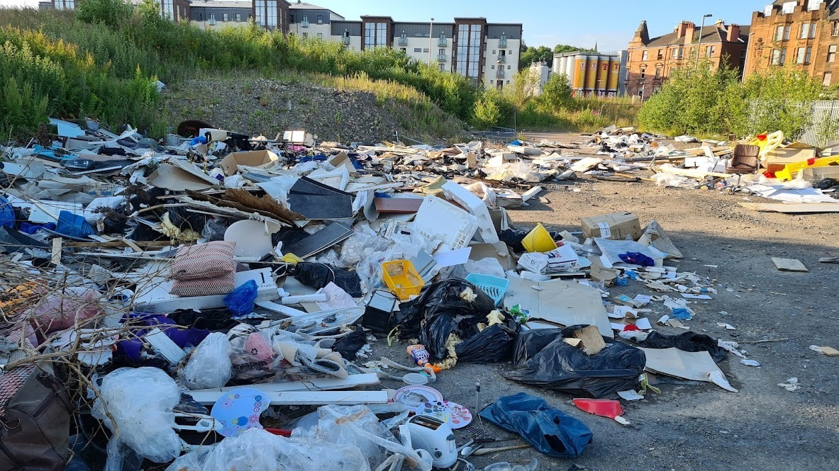 'I've lived in a crime scene': Call for play park on patch of Glasgow wasteland