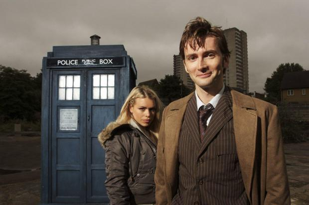 Glasgow Times: Bailey Piper played David Tennant as Doctor Who Assistant Rose Tyler.  Credit: BBC