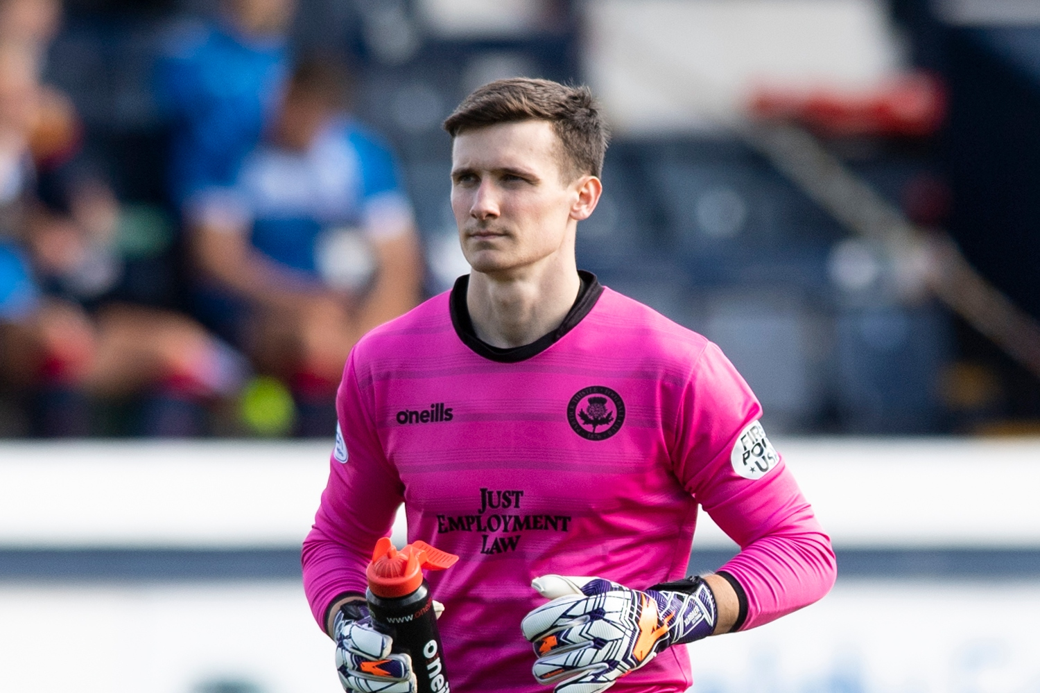 Jamie Sneddon determined to make Thistle's No.1 shirt his own