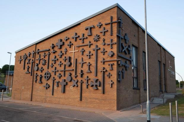 Glasgow Times: Photo: The new artwork has 33 styles of cross-credit: Church of Scotland
