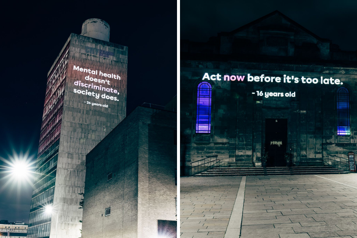 Charity mark launch of new fund with projections across Scotland