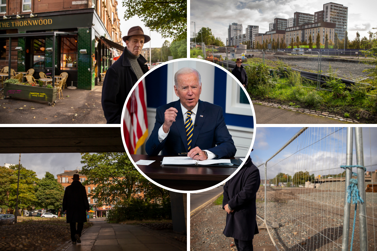 Thornwood Roundabout: Community calls on Joe Biden to support campaign against controversial fast food development when he is in Glasgow for COP 26