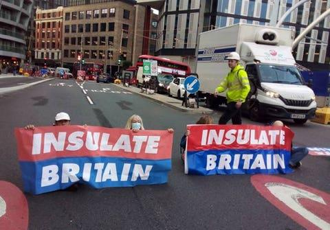 Protestors who block Glasgow roads will be dealt with 'swiftly and robustly'