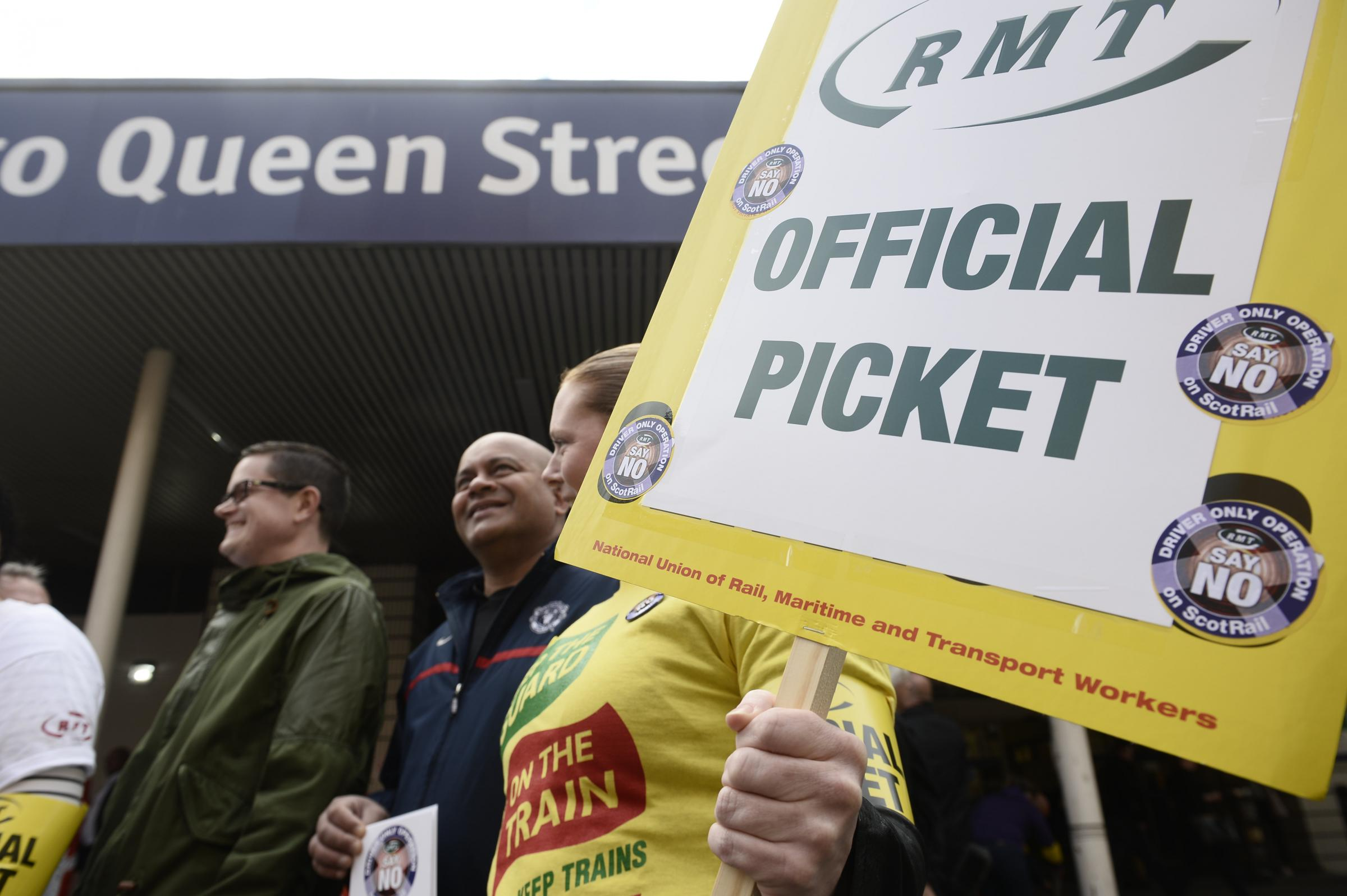 RMT union confirm more strikes could take place during COP26 in Glasgow