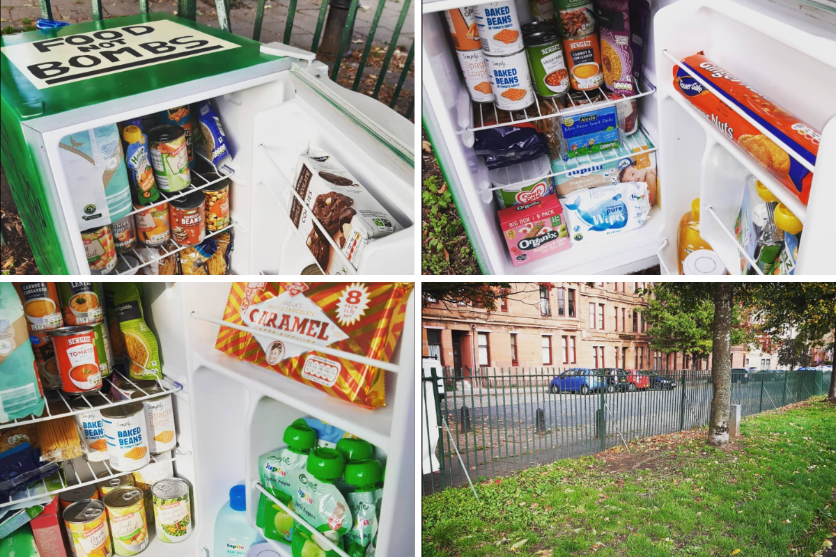 Glasgow council slammed for taking pantry from Govanhill Park