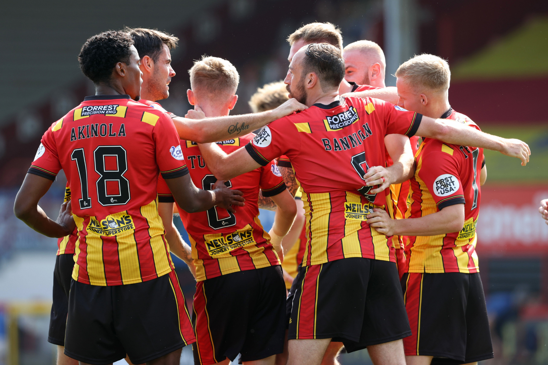 Hamilton 1 Partick Thistle 6 - Jags run rampant over dishevelled Accies