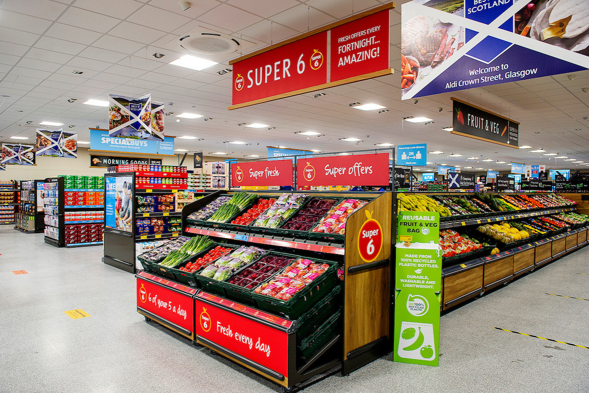 Southside Aldi to reopen with fresh new look as part of £600m investment plan