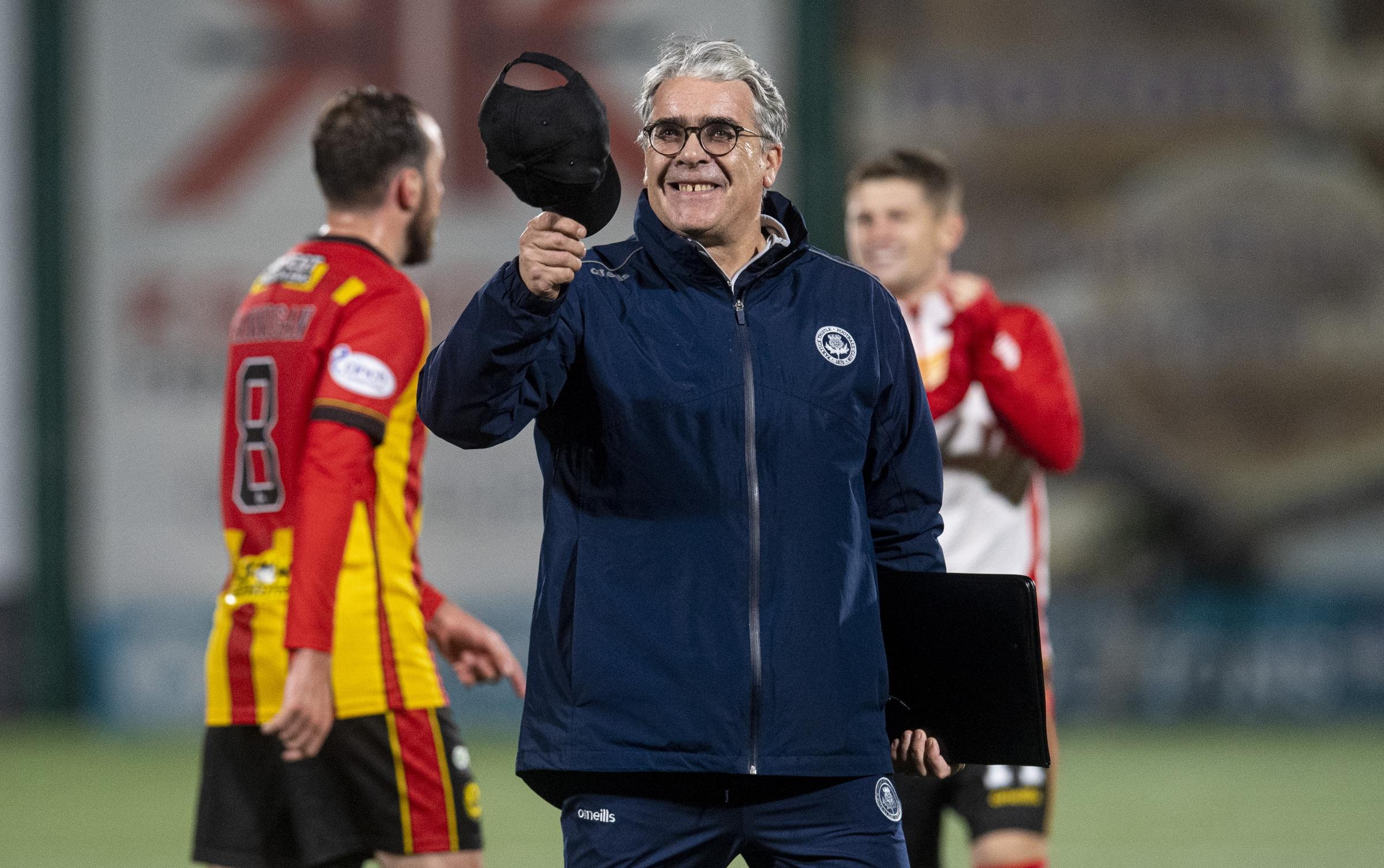 Celtic and Rangers 'legends' pale in comparison to Thistle's 1971 team, insists Ian McCall