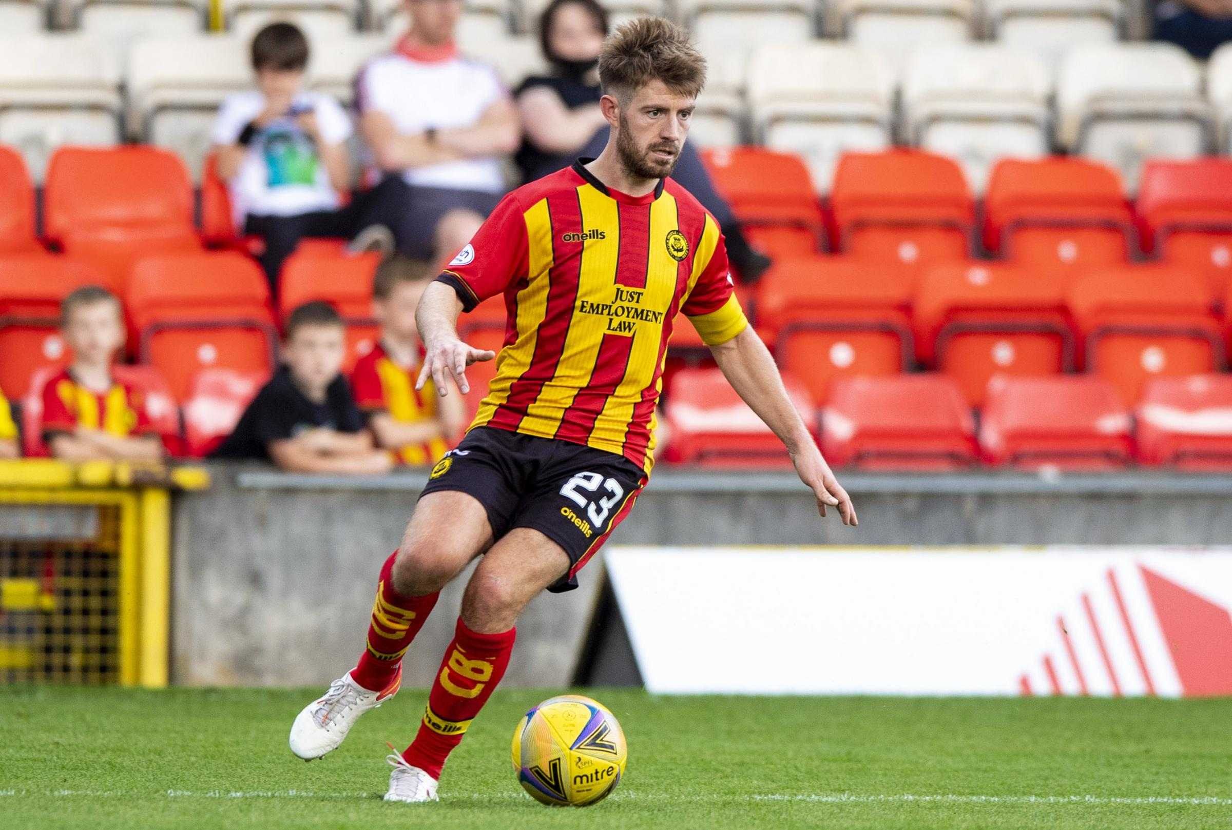 Ross Docherty sees progress at Thistle despite goalless draw with Dunfermline