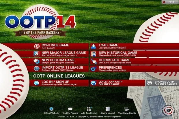 Video game review: Out of the Park Baseball 14