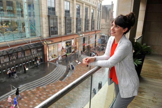 Half The Homes In The City S Buchanan Gardens Have Been Snapped Up Already Glasgow Times