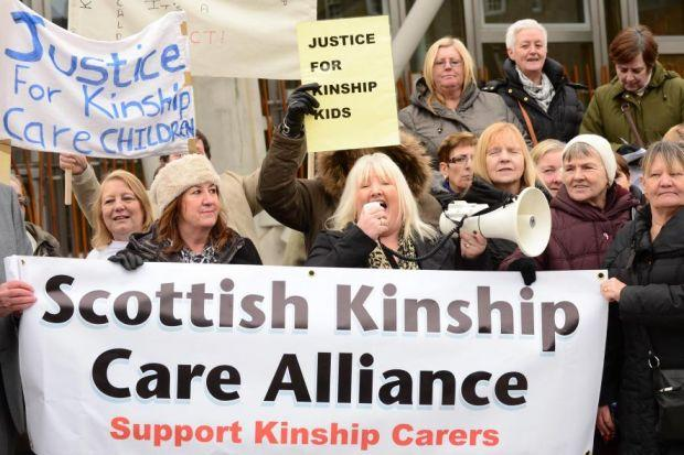 Kinship carers say they are disgusted by the decision