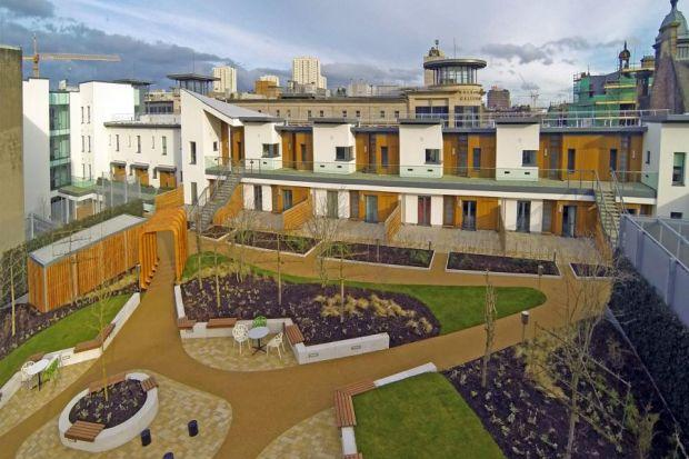City S Rooftop Garden Homes Are A Sell Out Glasgow Times