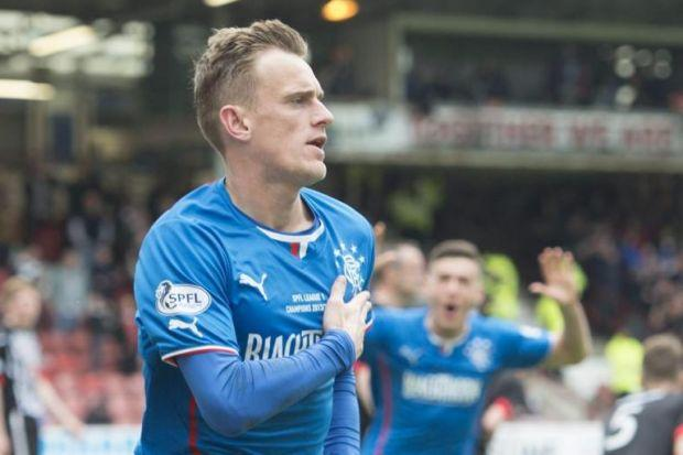 Dean Shiels scored for Gers but it was not enough to claim win