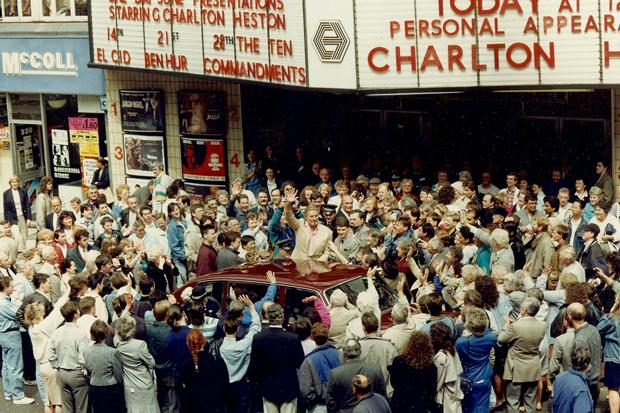 Memories: when Ben Hur star Charlton Heston came to Glasgow