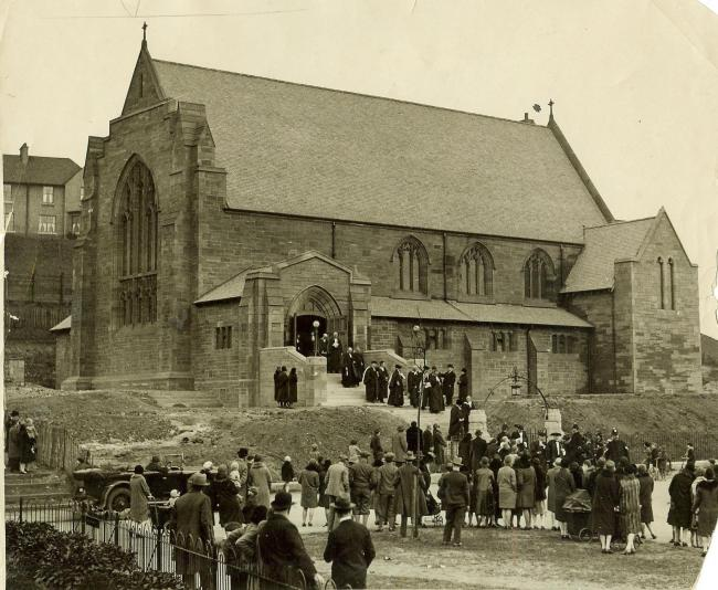 Memories: Mosspark Church in 1929