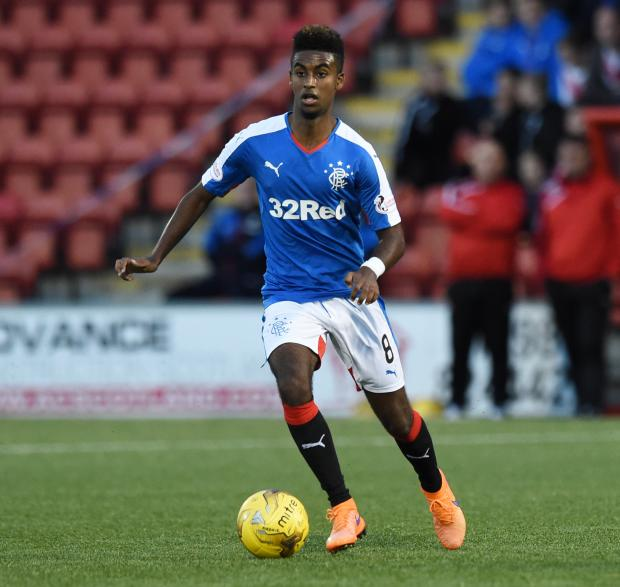 Glasgow Times: 26/08/15 SCOTTISH LEAGUE CUP 2ND RND AIRDRIEONIANS v RANGERS EXCELSIOR STADIUM - AIRDRIE Gedion Zelalem makes his debut for Rangers (36949479)