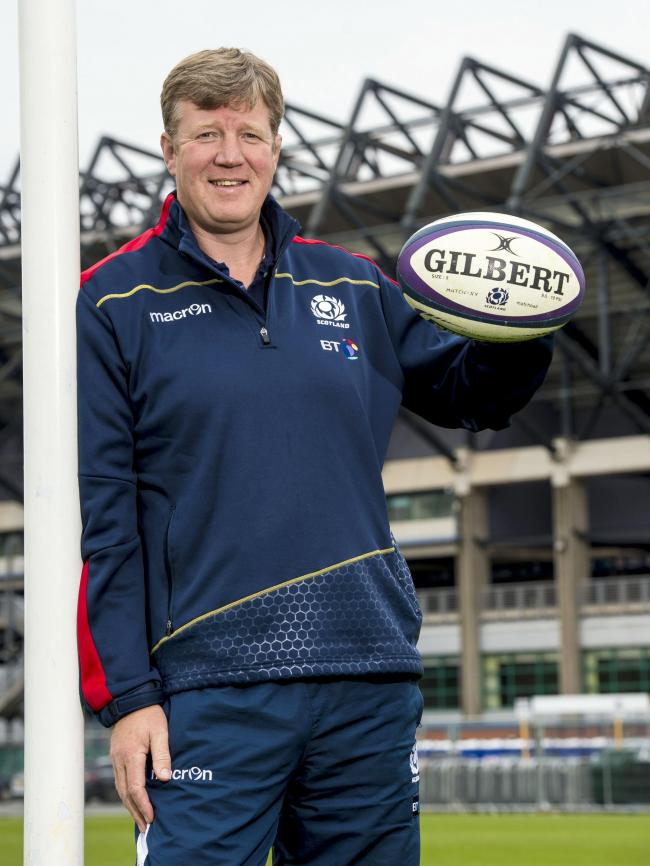Scotland women's coach Shade Munro at BT Murrayfield. Picture: SNS