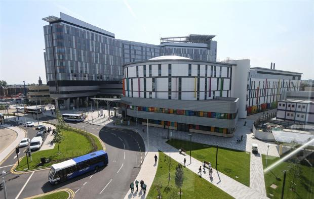 Glasgow Times: The Queen Elizabeth University Hospital, Glasgow  pic: Colin Mearns