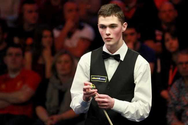 Scots snooker starlet Rhys Clark finally ends first-round bogey by defeating Mark David at China Open
