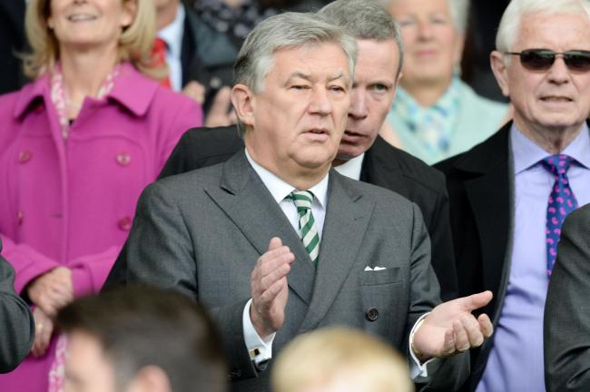 Delighted: Celtic chief executive Peter Lawwell has announced a new sponsorship deal for the club with betting firm Dafabet.