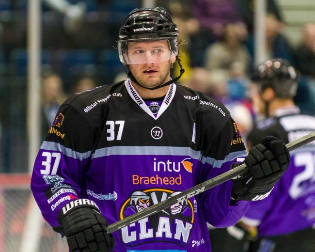 Jay Rosehill is one of the new faces at Braehead Clan this season. Picture: Al Goold