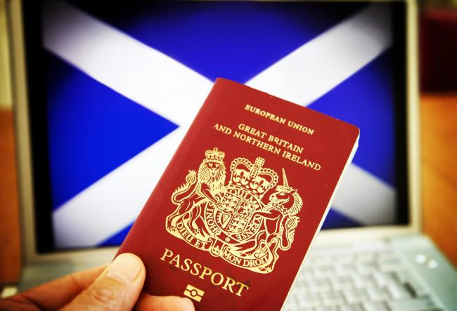 Scottish passport plan could allow Scots to keep working and living in Europe