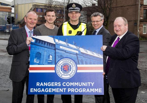 Glasgow Times: CLR Stephen Dornen, right (stock photo)