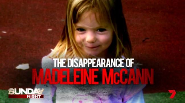 Madeleine McCann breakthrough: Aussie TV show claims to have solved mystery of tot's disappearance