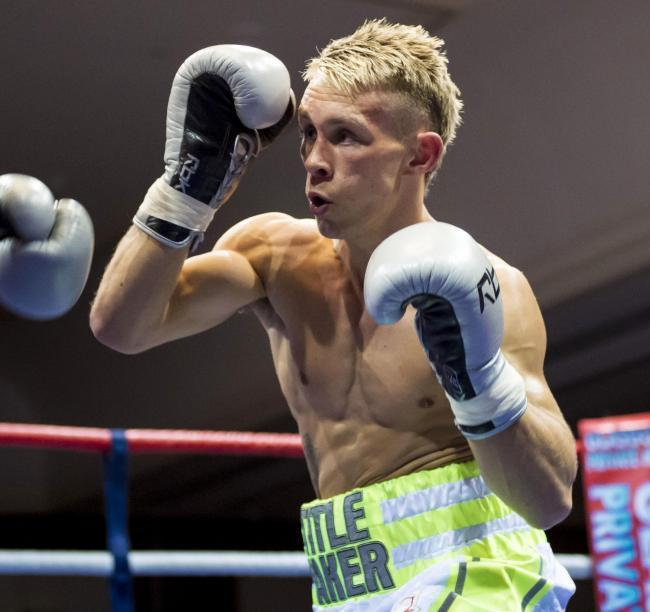 Fighting fit: Scott Allan is determined to be in the best shape possible for his rematch with Kash Farooq.