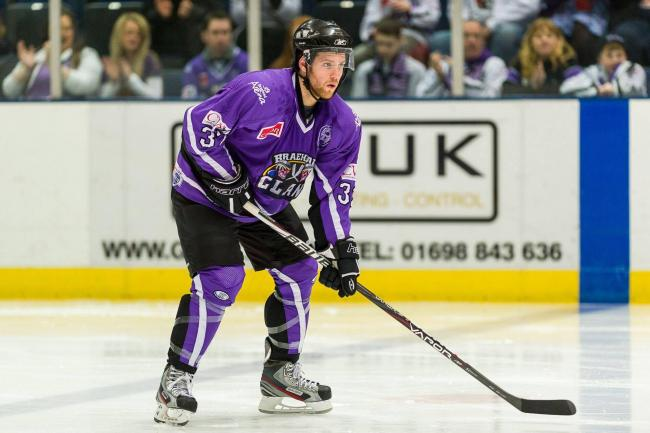 Craig Cescon during his last spell at Braehead. Picture: Al Goold