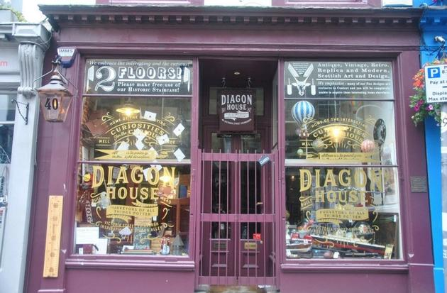 Two Magical Harry Potter Shops open in Edinburgh