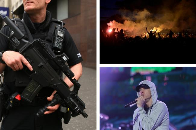 Armed cops to safeguard 35,000 Eminem fans at Bellahouston Park after  Barcelona terrorist attack | Glasgow Times