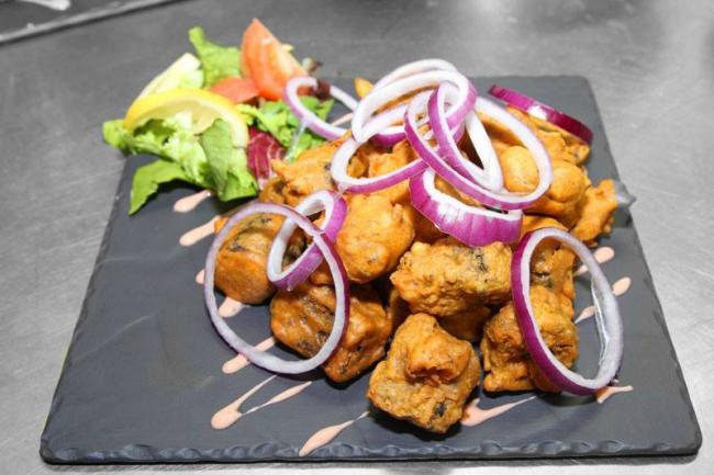 Glasgow Indian restaurant launches unusual type of pakora and you'll never guess what it is