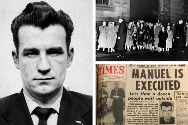 Hanged at Barlinnie: It took just 66 seconds to end life of serial killer Peter  Manuel | Glasgow Times