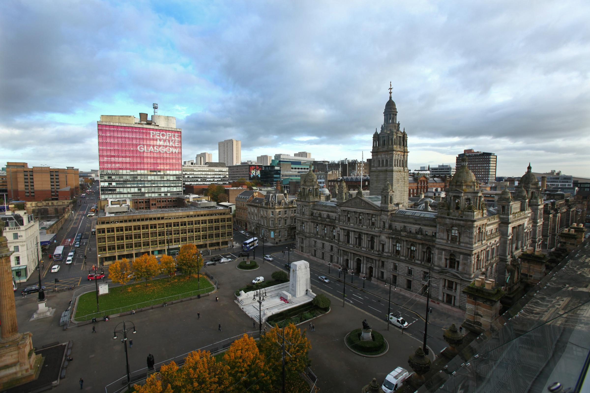 Glasgow city centre could be transformed under proposals to revamp George Square