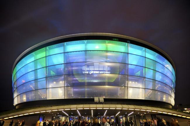 Glasgow's SSE Hydro: Why is the venue being lit up orange tonight?