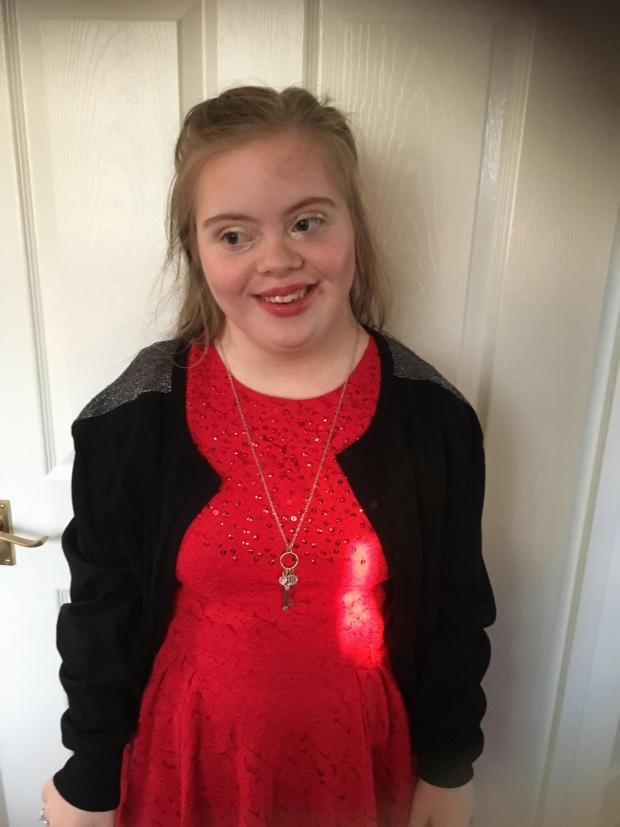 15 Year Old Girl With Down S Syndrome Is Celebrating After Realising Her Dreams Of Becoming A Model Glasgow Times