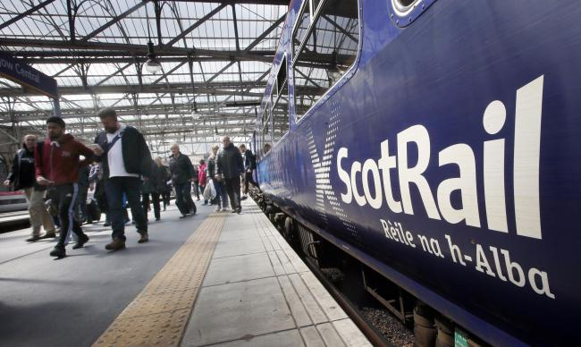 Person hit by train in Lanarkshire as emergency services lockdown area