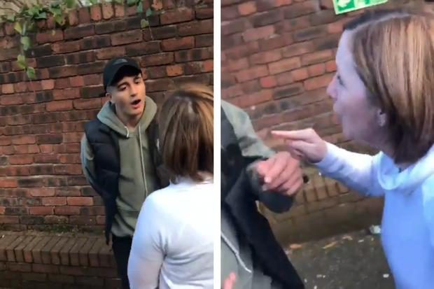 WATCH: Hilarious moment Celtic fan is dragged out the pub by his MUM to study