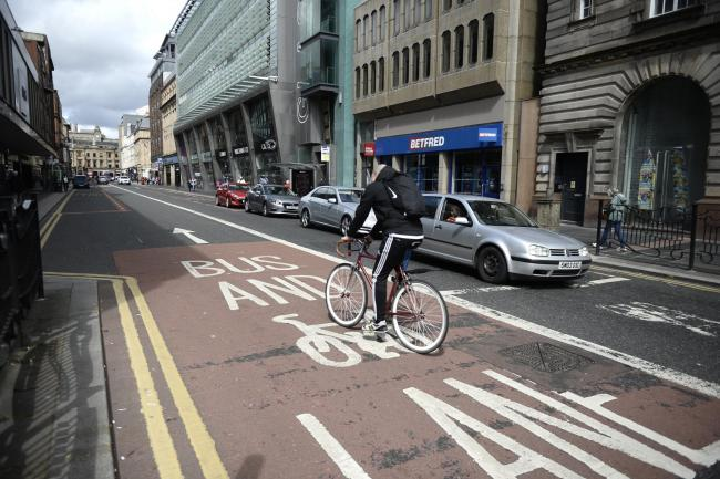 Innovative salt spray to be used on bike lanes in Glasgow this winter to help cyclists