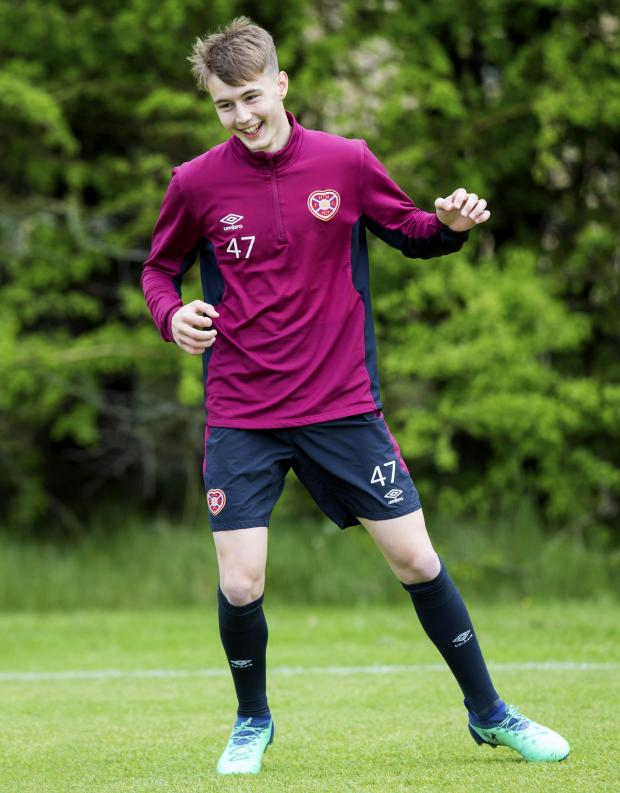 Glasgow Times: Harry Cochrane is one of the game's up and coming talents
