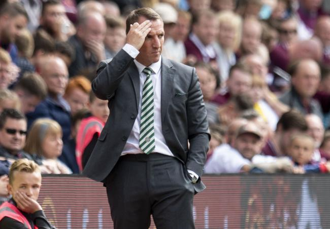 Celtic manager Brendan Rodgers has had better weeks