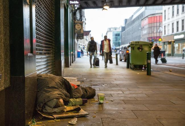 Glasgow leads the UK in tackling rough sleeping