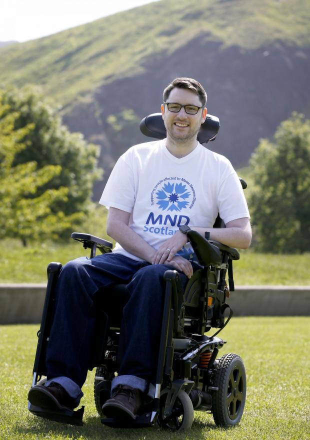 Glasgow Times: MND campaigner Gordon Aikman who passed away in February 2017