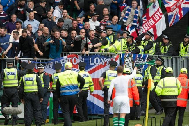 Old Firm lap of honour could be banned as police claim Celtic celebrations caused chaos among Rangers fans