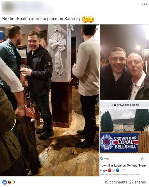 Chris Sutton: If online pub pics are valid, John Beaton's guilty of 'sheer  stupidity' | Glasgow Times