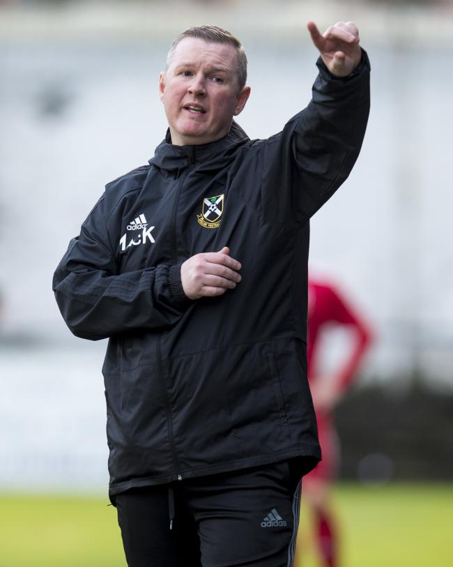 Cancelling the Scottish Junior Cup is a real kick in the teeth, says Pollok boss Murdie MacKinnon