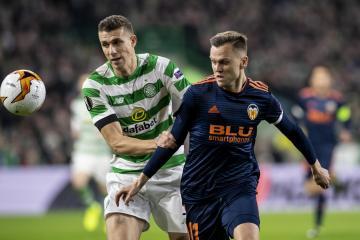 Celtic announce centre half Jozo Simunovic will leave Parkhead this summer